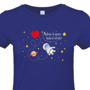 Camiseta Madrina infinito