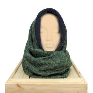 Cuello Doble Ancho Caladium Verde