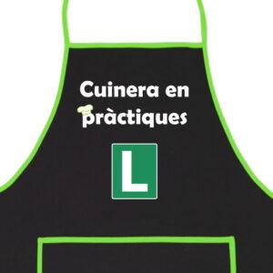 Delantal Cocinera en Prácticas
