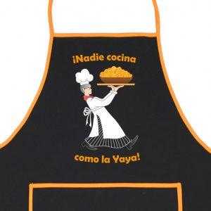 Delantal Nadie cocina como la Yaya