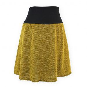 Falda cintura elástica Tucson Mostaza