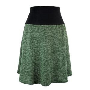 Falda cintura elástica Caladium Verde