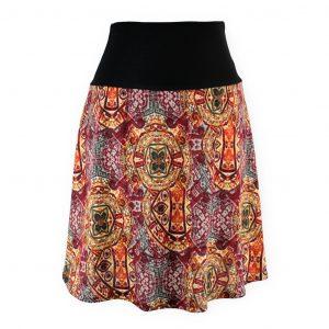 Falda cintura elástica Colorines