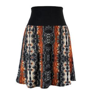 Falda cintura elástica Sabana Tierra