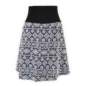 Falda cintura elástica Tribal Étnico