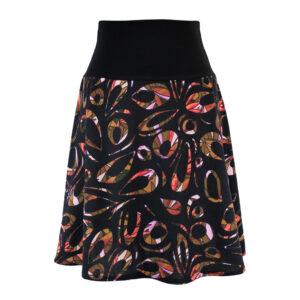 Falda cintura elástica Vitral Naranja