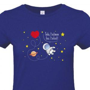 Camiseta Tía infinito