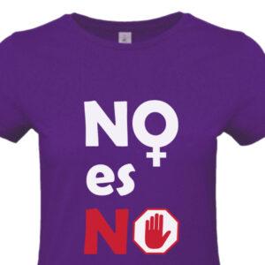 Camiseta Feminista 8M - No es No