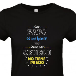 Camiseta Papa Abuelo Honor
