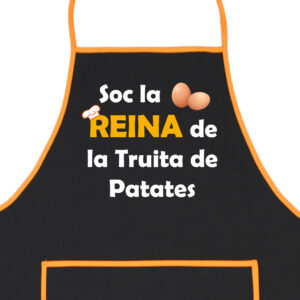 Delantal Reina de la Tortilla de Patatas