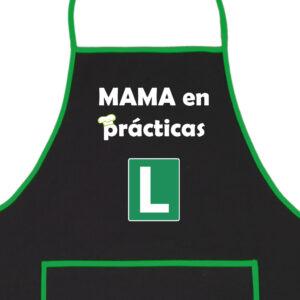 Delantal Mama en Prácticas