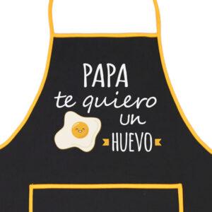 Delantal Papa Te Quiero un Huevo