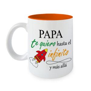 Taza Papa te quiero Infinito