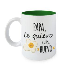 Taza Papa te quiero un Huevo