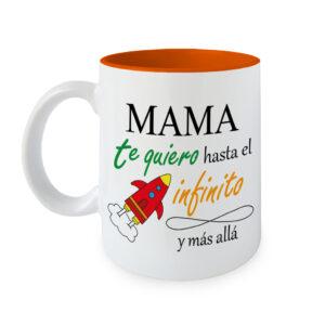 Taza Mama te quiero Infinito