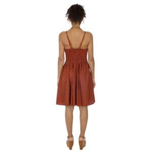 Vestido Corto Tirantes Rojo