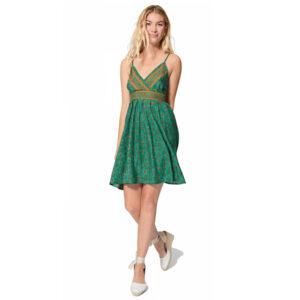 Vestido Corto Tirantes Verde