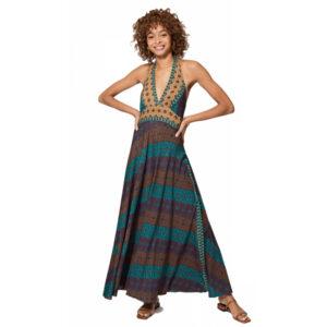 Vestido Boho Largo 4 colores