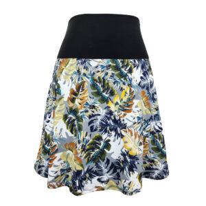 Falda elástica midi Maui