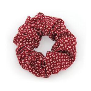 Coletero Scrunchie - Rojo