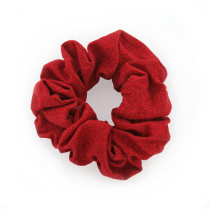 Coletero Scrunchie - Rojo puntitos