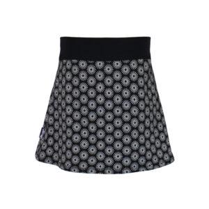 Falda infantil Negra Soles
