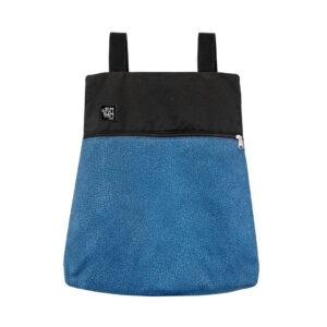 Mochila Bolso Azul puntitos