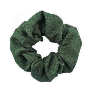 Coletero Scrunchie - Verde Púas